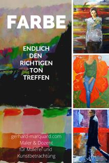 Farbe, kunstakademie eigenart, kurs gerhard marquard