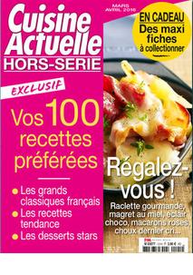 Mars 2016 - Petit article dans Cuisine Actuelle