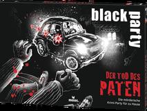 black party, krimi dinner, spiel, black stories