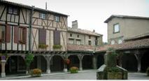 Lautrec,classé dans les plus beaux villages de France
