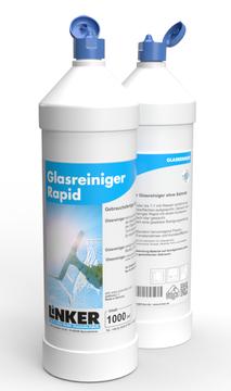 Glasreiniger Rapid_ Linker Chemie, Flasche