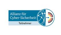 Das Logo der Allianz für Cyber-Sicherheit wird dargestellt