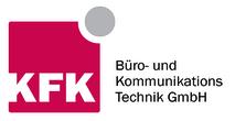 Das Logo der Firma KFK, Büro- und Kommunikations Technink GmbH wird dargestellt