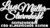 Lisei Müller-Sturmhöfel - Reitlehrerin für klassisches Reiten