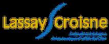 Dans le 1000 Communication - Agence graphique en Loir-et-Cher - Création de logos et de chartes graphiques - Logo du village de Lassay-sur-Croisne - www.lassay-sur-croisne.fr