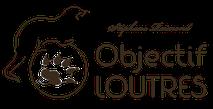Dans le 1000 Communication - Agence graphique en Loir-et-Cher - Création de logos et de chartes graphiques - Logo d'Objectif Loutres de Stéphane Raimond