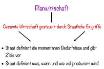 Planwirtschaft erklärt