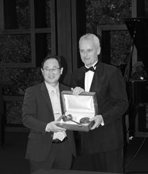 Gable Ceremony Seoul Juni 2018, Präsidentschaftsübernahme von Prof. Hyung J. Park