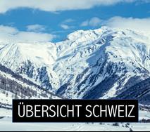 Übersicht Box Ganze Schweiz Skiwetter & Schnee