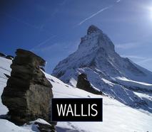 Übersicht Box Wallis Skiwetter & Schnee