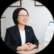 女性司法書士 吉益千絵の写真
