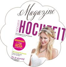 Presse Magazine: Schönmich Accessoires, Brauthaarschmuck und Brautgürtel in Zeitschriften.