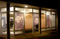 Wellkamm Friseur Eingang und Fenster