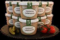 Hausmacher Leberwurst, im Glas, Metzgerei Weinbuch, Öpfingen, Online Shop