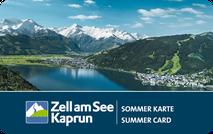 Sommer Karte Zell am See / Kaprun