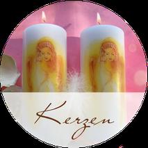 AGNYA HEALING ART exklusive Engel-Kerzen