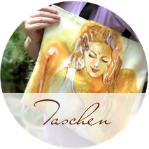 AGNYA HEALING ART Stofftaschen mit Engel-Kunst