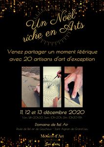 Salon de Noël Métiers d'Art sur Loire, Domaine de Bel Air