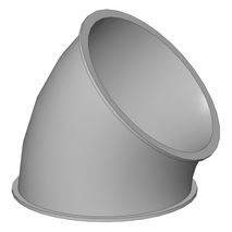 Ballige Segmente - Baukasten Rohrbauteile