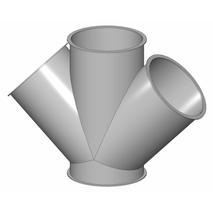 Gabelstücke - Baukasten Rohrbauteile