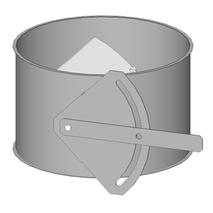 Drosselklappe - Baukasten Rohrbauteile