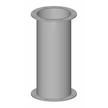 Rohr geflanscht - Baukasten Rohrbauteile
