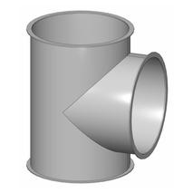 T-Stück - Baukasten Rohrbauteile