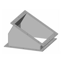 Segment eckig - Baukasten Rohrbauteile