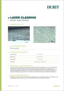 LASER CLADDING LPD 509.0 CoCrMo
