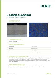 LASER CLADDING LPD 511.0 FeVCrMn