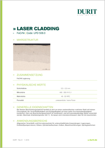 LASER CLADDING LPD 508.0 FeCrNi