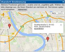 www.123profis.de GoogleMap