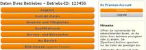 www.123profis.de Betriebs-Account