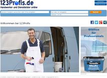 www.123profis.de Startseite