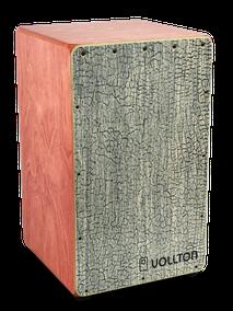 VOLLTON CAJON Front: Designfurnier White Snake Korpus:  Birke, geölt im Farbton Mahagoni Größe:  Maxi, 48 x 29 x 29 cm