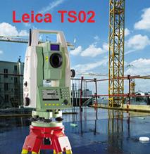 Estacion total leica ts02