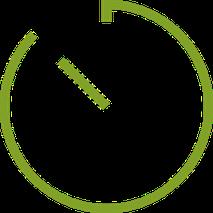 Uhrensymbol | Richtiges Zähneputzen