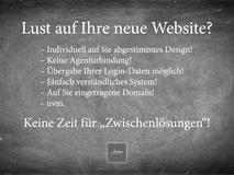 Bild mit Zusammenfassung / Beispiel zum Angebot Website Internetseite schon ab 499 Euro.