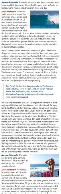 Interview with Janni Hönscheid