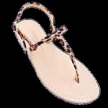 sandali infradito minimal Ermes colore maculato Mariarosaria Ferrara Ischia .