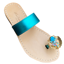 """Sandali gioiello """"Conchiglia"""" Mariarosaria Ferrara Ischia."""