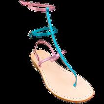 """sandali alla schiava modello """"Princess-luna"""" collezione unicorno by Mariarosaria Ferrara Ischia"""