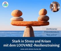Präventionskurs für Betriebliche Gesundheit: Resilienztraining nach LOOVANZ - Anti-Stress-Trainerin Christina Gieseler - Mindful Balance Gesundheitsprävention & Stressmanagement