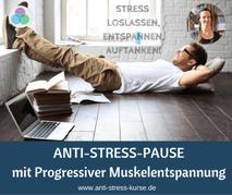 Anti-Stress-Pause mit Progressiver Muskelentspannung - Aktive Pause für die Betriebliche Gesundheit- Anti-Stress-Trainerin Christina Gieseler - Mindful Balance Gesundheitsprävention & Stressmanagement
