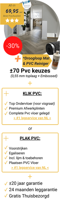 Royal PVC inclusief leggen