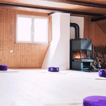 Raumvermietung Schlossgass Andelfingen Yoga Meditation Seminarraum