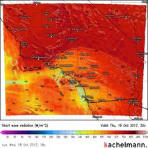Südkalifornien (kurzwell. Strahlung)