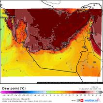 Vereinigte Arab. Emirate (Taupunkt)