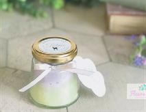 ③ミルキーグラデーションキャンドル (香り付)