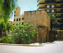 Torre de la Muralla en Cocentaina, Alicante, Comunidad Valenciana.